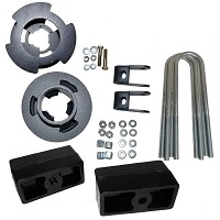 "2011-2014 Super Duty F250/F350 4x4 Traxda 3"" Front & Rear Lift Kit -- w/ 2.75"" OEM Rear Block ONLY"