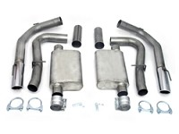 "1999-2004 Mustang Cobra 4V 4.6L JBA 3"" Cat-Back Exhaust System"