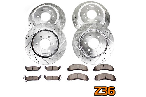 2012-2014 F150 / Raptor Power Stop Z36 Extreme Truck & Tow Complete Brake Kit (6-Lug Only)