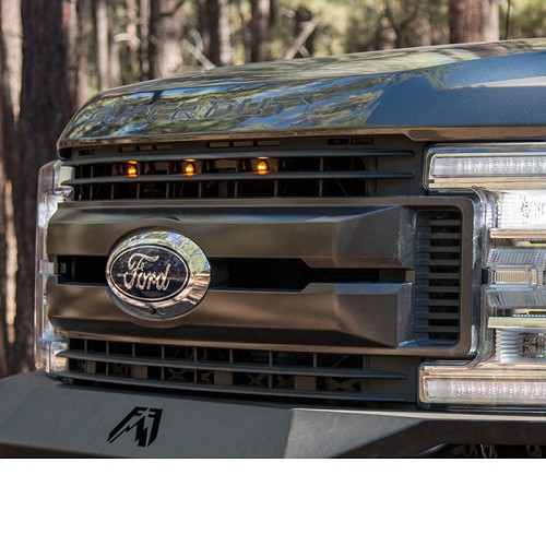 platinum custom auto works raptor style grille light kit   sdpp