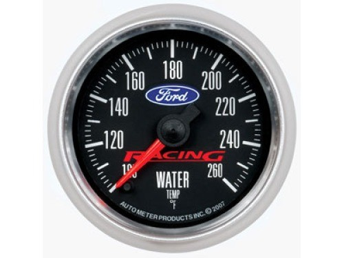 auto meter ford racing full sweep water temperature gauge 2 1 16 880086. Black Bedroom Furniture Sets. Home Design Ideas