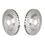 1999-2004 Mustang Cobra Baer Eradispeed 1-Piece Rotors (Rear)