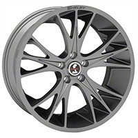 1994-2015 Mustang Carroll Shelby CS1 20x9 Wheel (Gunmetal)