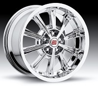 2005-2014 Mustang Carroll Shelby CS66 18x9.5 Wheel (Chrome)