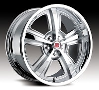 2005-2014 Mustang Carroll Shelby CS69 18x9.5 Wheel (Chrome)