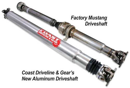2011-2014 Mustang V6 Coast Performance 1-Piece Aluminum Driveshaft