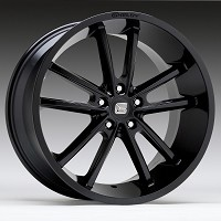 1994-2015 Mustang Carroll Shelby CS2 20x9 Wheel (Gloss Black)