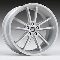 1994-2015 Mustang Carroll Shelby CS2 20x9 Wheel (Satin Silver)