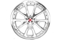 2005-2014 Mustang Carroll Shelby CS40 20x9 Wheel (Silver / Machined)