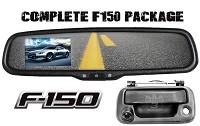 2004-2014 F150 Rear View Mirror & Back Up Camera Package