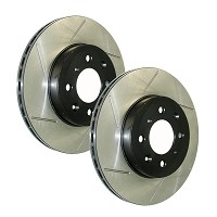2013-2014 Focus ST StopTech Slotted Rear Rotors