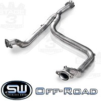2011-2014 F-150 3.5L Ecoboost Stainless Works Off-road Downpipe (Y-Pipe)