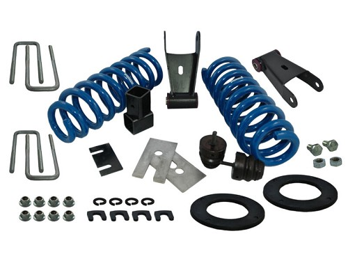 "2015-2017 F150 4WD Ground Force 1.5""/2.5"" Drop Kit"