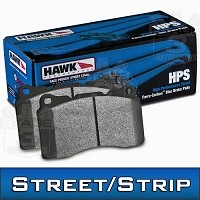 2013-2014 Focus ST Hawk HPS Front Brake Pads