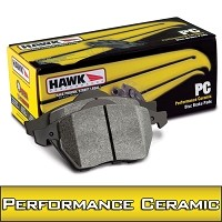 2013-2014 Focus ST Hawk Performance Ceramic Front Brake Pads