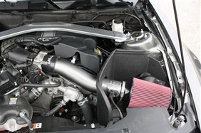 2011-2014 Mustang V6 3.7L JLT Cold Air Intake (Painted)