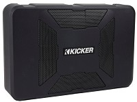 "Kicker 8"" Hideaway Subwoofer with Enclosure & 150W Amplifier"