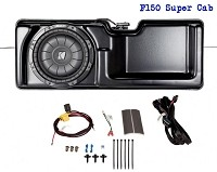 2009-2014 F150 Kicker SoundGate SubStage Powered Subwoofer Kit (Super Cab)