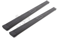 1999-2014 Super Duty F250/F350 Extended Cab Lund Wheel-to-Wheel Running Boards (Black)