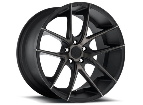 "2005-2017 Mustang Niche Targa 20x10"" M130 Wheel (Double Dark Black Machined)"