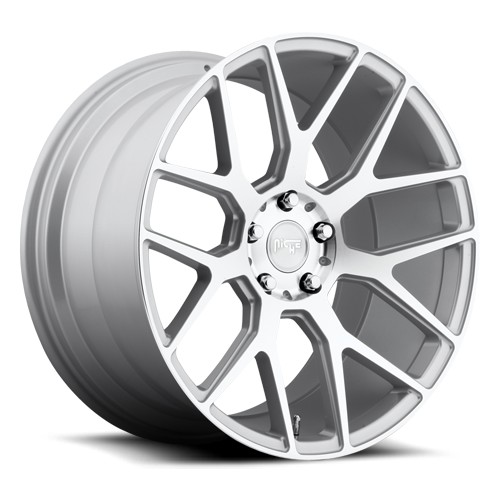 "2005-2017 Mustang Niche Intake 20x10"" M160 Wheel 5x114.3mm (Silver Machined)"