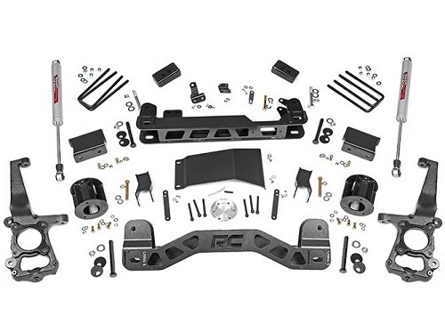 "2015-2017 F150 4WD Rough Country 4"" Suspension Lift Kit"
