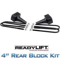 "2011-2014 F250 4WD Ready Lift 4"" Rear Block Kit"