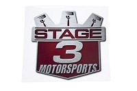 Stage 3 Motorsports Rear Windscreen Shield Decal