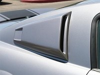 2007-2009 Mustang Shelby Super Snake Quarter Window Scoops