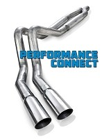 2011-2014 F-150 5.0L Stainless Works S-Tube Performance Connect Side Exit Cat-Back Kit