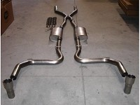 2003-2004 SVT Cobra Stainless Works Exhaust System - For Headers w/o Cats