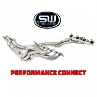 "2010-2014 SVT Raptor 6.2L Stainless Works 1-7/8"" Long Tube Off-Road Performance Connect System (SuperCab)"