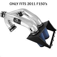 2011 F150 3.5L EcoBoost aFe Magnum FORCE Stage 2 Pro 5R Intake (Polished)