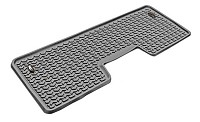 2009-2014 F150 SuperCrew Rugged Ridge 1-Piece Rear Floor Liner (Gray)