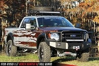2009-2014 F-150 Fab Fours Front Winch Bumper w/ Full Grille Guard