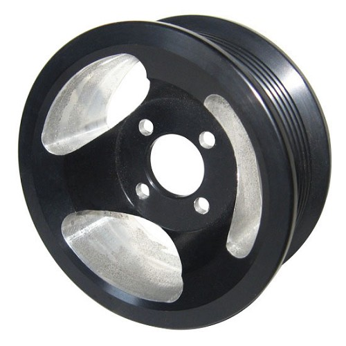 Whipple Superchargers Reviews: 2004-2008 F150 Whipple 6-rib Supercharger Pulley (Black