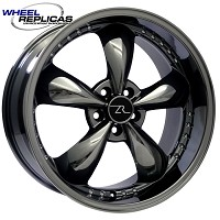 2005-2014 Mustang Wheel Replica 20x10 Bullitt Motorsports (Black Chrome)