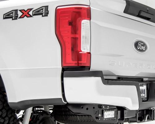 zroadz rear bumper led light mounts   light bars  kit