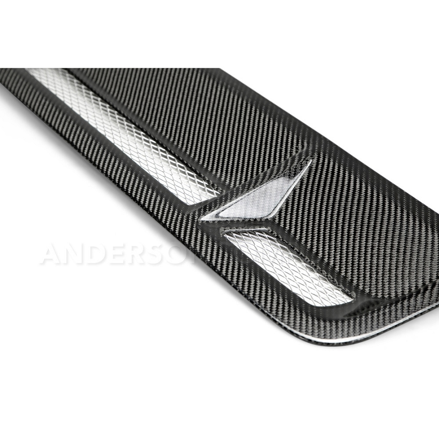 Gt500 Carbon Fiber Hood >> 2010-2014 Shelby GT500 Anderson Composites Carbon Fiber Hood Vents AC-HV11MU500