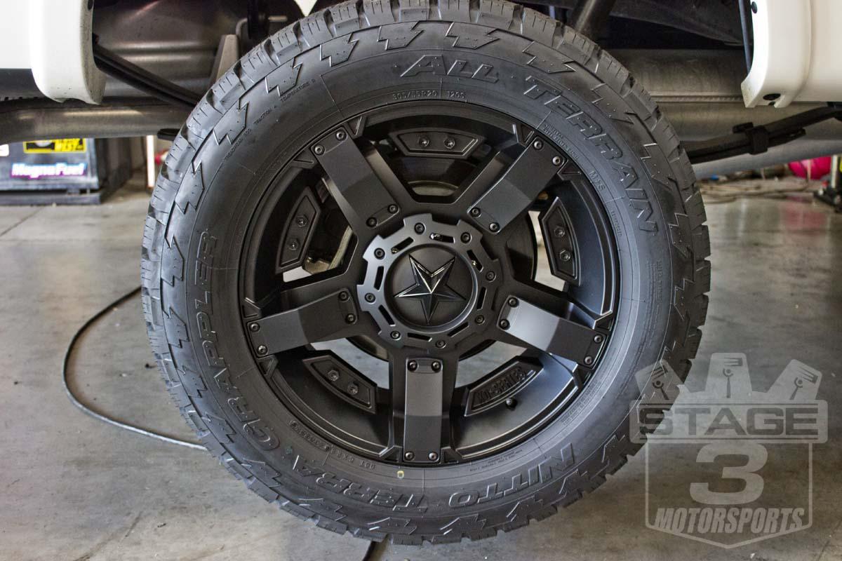 1997 2003 F150 Xd 17x9 Quot Satin Black Rock Star Ii Wheel