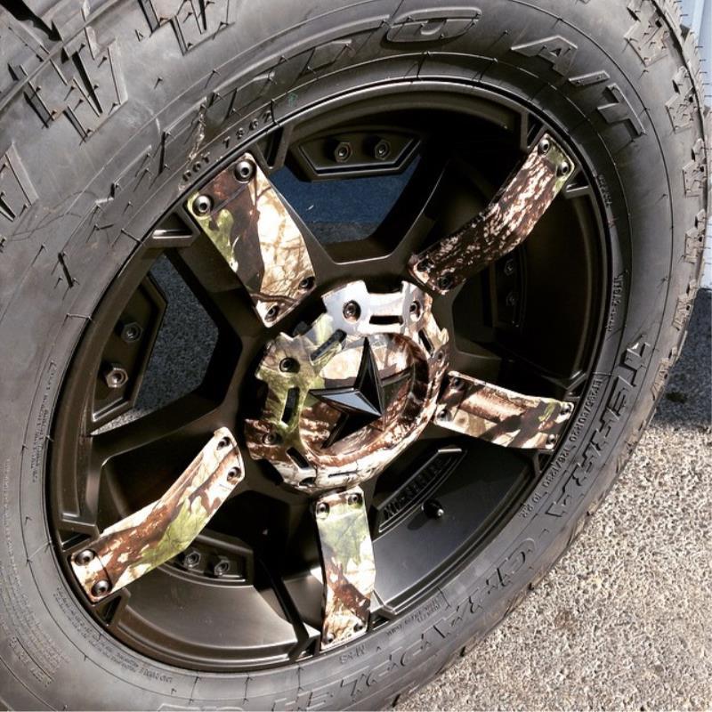 1997 2003 F150 Xd 17x9 Satin Black Rock Star Ii Wheel 12 Offset