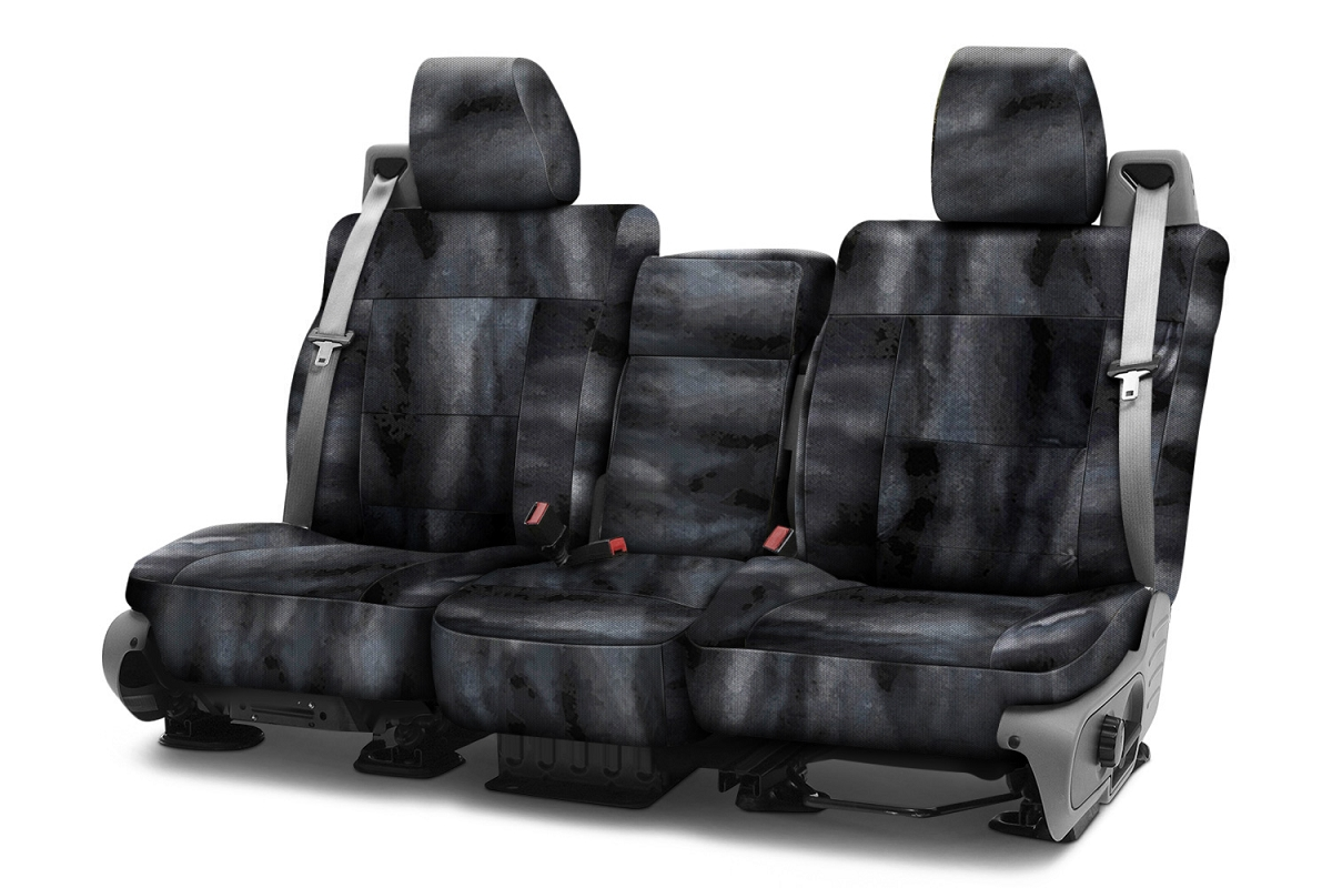 2015-2020 F150 CoverKing Ballistic Multi-Cam Front Seat Covers (Black)