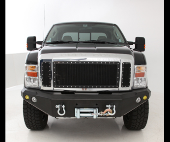 2008 2010 f250 f350 super duty smittybilt front bumper black smb 612830. Black Bedroom Furniture Sets. Home Design Ideas