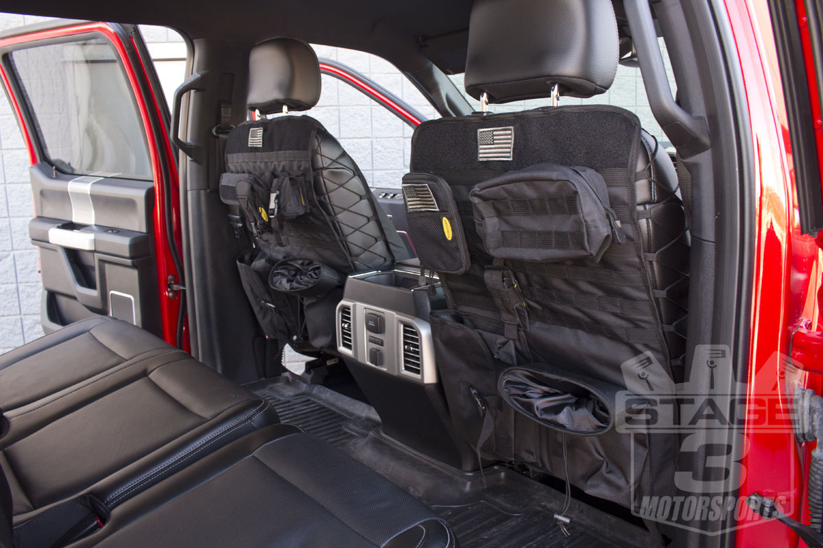 2017 F150 Seat Covers >> 2015-2020 F150 Tactical Front Seat-Back Cover 04-15F150TSC-