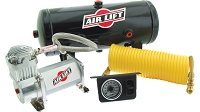 Air Lift QuickSHOT On-Board Air Compressor Kit (Single Path)