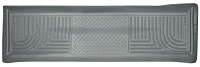 2011-2016 F250 & F350 Crew Cab Husky WeatherBeater Rear Floor Mat (Gray)