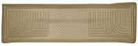 2011-2016 F250 & F350 Crew Cab Husky WeatherBeater Rear Floor Mat (Tan)