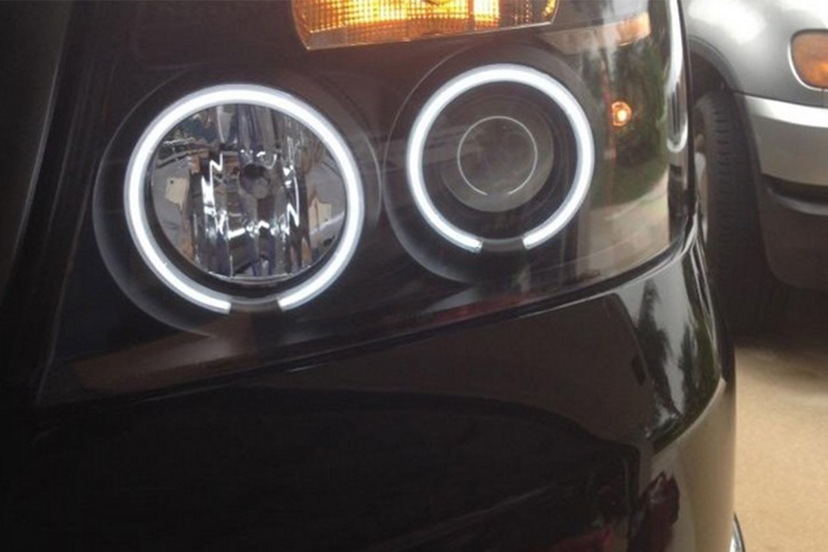 2004 2008 F150 Spyder Version 2 Projector Headlights W Led Halos Fog Light Wiring Diagram Tap To Expand