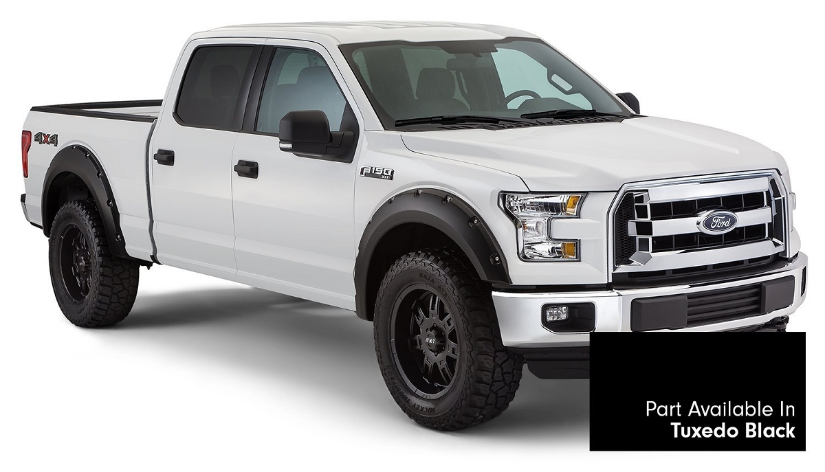 2015 2017 f150 bushwacker pocket style fender flares pre for Ford f150 paint job cost