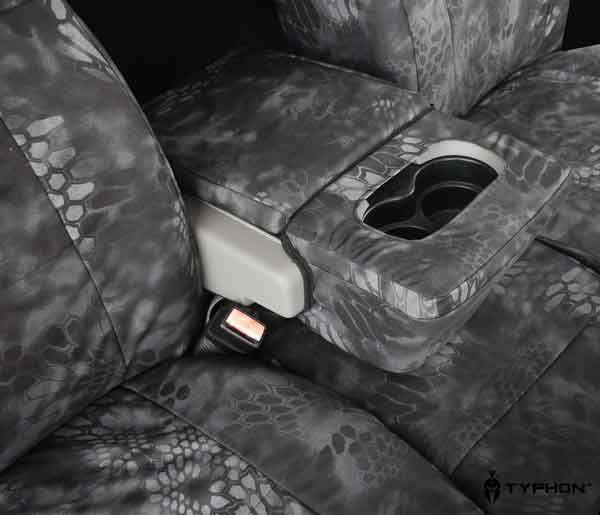 2009 2010 F150 Coverking Ballistic Typhon Camo Front Seat